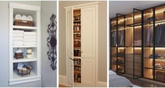 Armoires et étagères murales : les solutions élégantes et sur mesure pour utiliser l'espace de façon efficace