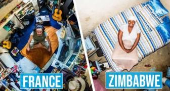 Ein Fotograf hat Schlafzimmer auf der ganzen Welt festgehalten: Die Unterschiede sind faszinierend