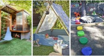 Area giochi in giardino: scopri come crearla per far divertire i bambini