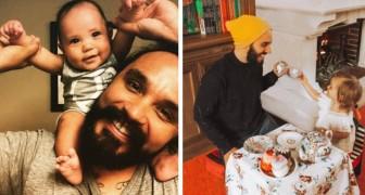 15 emozionanti foto di uomini che hanno raggiunto il massimo della felicità diventando papà
