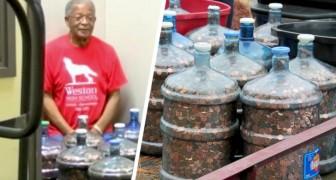 Ahorra monedas durante 45 años y descubre que son suficientes para comprarse un auto