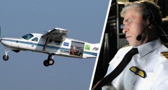 Pilot schläft 40 Minuten am Steuer ein und überschreitet den Flughafen um 120 km