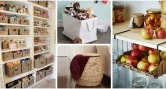 Largo a cesti e cestini: usali per organizzare gli spazi in ogni stanza di casa