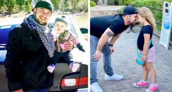 He's raising his daughter alone after her mom abandoned them: a super sweet super dad