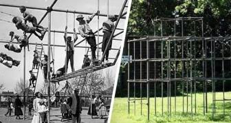 Jeux dangereux : 15 photos du passé nous montrent comment les parcs d'antan étaient tout sauf sûrs