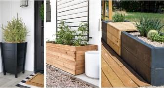 Fioriere da esterno: scopri come realizzarle col fai-da-te e rendi unico il tuo giardino