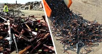 La Belgique fait fondre plus de 22 000 armes à feu et les transforme en tonnes d'acier