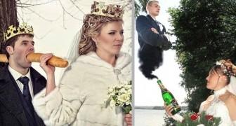 Matrimoni russi: 18 scatti così improbabili da risultare quasi convincenti