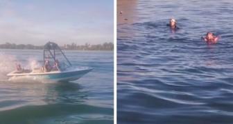 Insultano una coppia gay ma il karma li colpisce all'istante: la loro barca prende fuoco