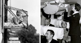 20 foto d'altri tempi ci ricordano quanto i genitori fossero spericolati in passato