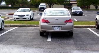 Elle gare sa voiture dans une zone de stationnement interdit et gêne le travail d'une équipe d'ouvriers : ils se vengent