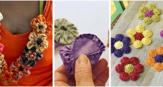 Scopri qualche delizioso lavoretto creativo per riciclare gli scampoli di stoffa