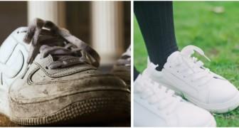 Fai tornare bianche le tue scarpe da ginnastica con questi semplici metodi fai-da-te