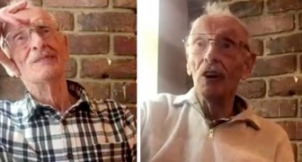 They donate £700 to an elderly widower who goes to the same place for lunch every day: they all love him