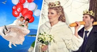 Las fotos de la boda: 21 fotos al límite de la realidad que un día los nietos mirarán con recelo