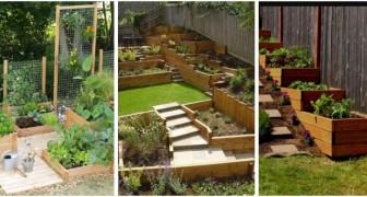 Orto in giardino? Fai spazio alle tue piante con queste soluzioni belle e pratiche