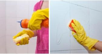 Piastrelle del bagno da sgrassare? Falle tornare pulite e brillanti con l'aceto