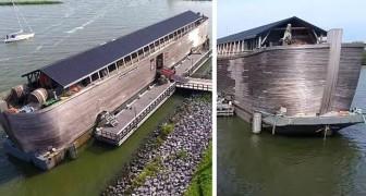 England, beschlagnahmte einen Nachbau der Arche Noah: nicht seetauglich