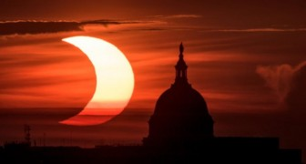 La NASA condivide le foto dell'eclissi anulare di Sole: uno spettacolare anello di fuoco