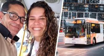 Un chauffeur de bus conduit une femme en difficulté à un entretien et elle obtient le poste