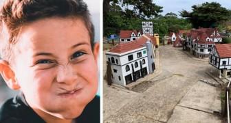Dañan un pueblo en miniatura: los padres los obligan a ser voluntarios en el parque como castigo