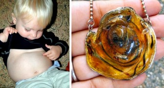 Some moms are turning their children's umbilical cords into bracelets and necklaces