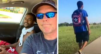 Ele caminha 27 km por dia para ir ao trabalho: um estranho lhe oferece uma carona e muda sua vida