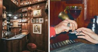 Este bar tiene una superficie de 4 metros cuadrados y puede albergar solo cuatro clientes: un local récord
