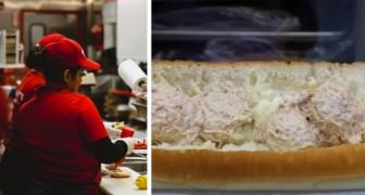 Nel panino al tonno non c'è traccia di tonno: laboratorio analizza i prodotti di una catena di fast-food