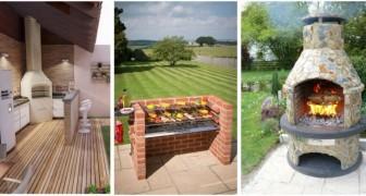 Barbecue in giardino: scopri tanti progetti diversi per creare il tuo angolo cottura all'aperto