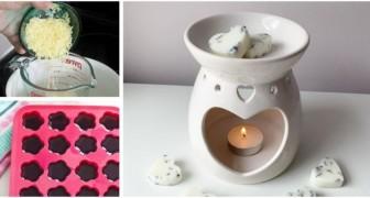 Meglio delle candele profumate: crea le tue pastiglie di cera aromatiche e riutilizzabili