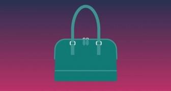 Ist diese Handtasche blau oder grün? Die optische Täuschung, die das Web verwirrte