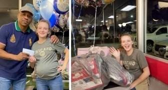 Schwangere Kellnerin kommt bis zum Monatsende nicht über die Runden: Ein besonderer Kunde beschließt, ihr Leben zu verändern