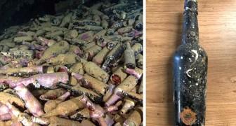 Ritrovate centinaia di bottiglie di birra dell'800 sepolte in fondo al mare: il lievito è ancora vivo
