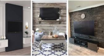 Mur derrière la TV : rendez-la spéciale avec ces solutions ayant un grand effet