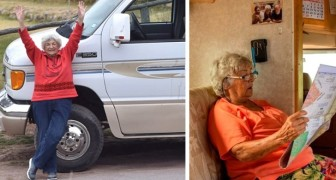 Aos 83 anos decide mudar de vida e começa a viajar num trailer: Sinto-me jovem de novo!