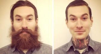 14 hombres que después de cortarse la barba parecen personas completamente distintas