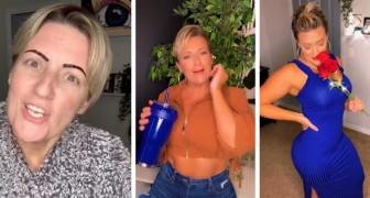 Mujer de 40 años criticada porque se viste demasiado juvenil: lo importante es estar bien con uno mismo