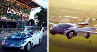 Da auto sportiva ad aereo: questo veicolo futuristico è in grado di trasformarsi in meno di 3 minuti
