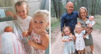 Paar dat lijdt aan dwerggroei heeft drie kinderen, de laatste is geboren met een standaard lengte