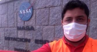 Ele foi garçom em um país estrangeiro: hoje ele é um engenheiro que trabalha para a NASA