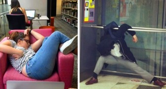 17 people who accidentally fell asleep in the most absurd moments and places