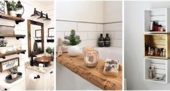 Arreda il bagno in modo personalizzato e originale con questi piccoli progetti di fai-da-te