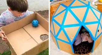 16 idées pour divertir les enfants qui coûtent moins d'un centime