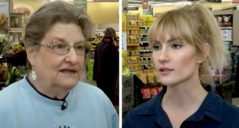 An elderly woman is scammed on the phone and panics in a shop: the employees offer to help her