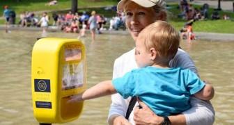 Distributeurs automatiques de crème solaire sur les plages : voici comment lutter contre le cancer de la peau