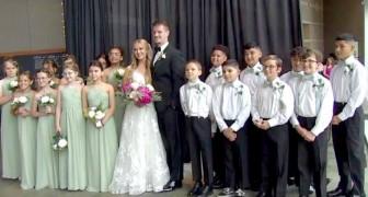 Une institutrice demande à ses jeunes élèves d'être témoins et demoiselles d'honneur à son mariage