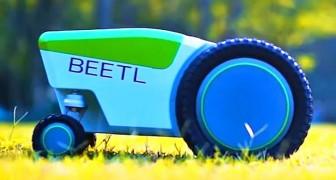 Un'azienda crea il robot intelligente che individua e raccoglie i bisogni dei cani