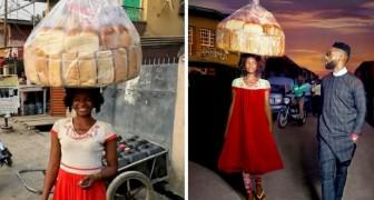 Vendedora ambulante es fotografiada por equivocación y se vuelve repentinamente una modelo de suceso