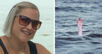 Zwangere vrouw slaat de mis over om haar kinderen te laten zwemmen en redt een kind van de verdrinkingsdood